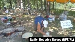 Ѓомлезијада 2012 во охридското село Скребатно.
