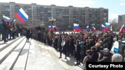 Акция протеста в Тюмени (Архивное фото)