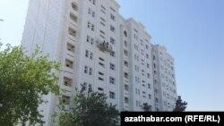 Жилой дом в микрорайоне Мир-2, Ашхабад