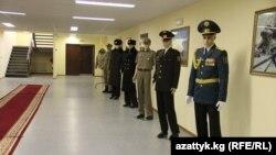 Новая униформа кыргызских военных, представленная в министерстве обороны КР в Бишкеке