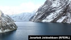 Токтогул суу сактагычы, Жалал-Абад облусу, 18-январь, 2013