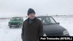 Сергей Юрченко, Жамбыл ауылының тұрғыны. Батыс Қазақстан облысы, ақпан 2018 жыл.