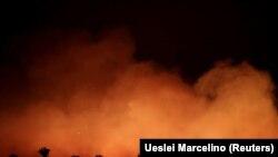 Близо 75 000 пожара са възникнали от началото на годината в Бразилия, повечето в тропическите гори на Амазония