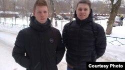 Данила Васильев и Александр Шабарчин, фото штаба Навального в Перми