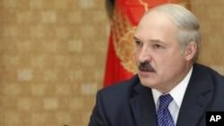 Belarusyň prezidenti Aleksandr Lukaşenko