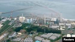 Fotografi arkivi e centralit bërthamor në Fukushima të Japonisë