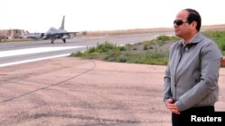 Египетскиот претседател Абдел Фатах ал Сиси