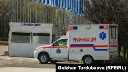 Карета скорой помощи в Бишкеке Иллюстративное фото.