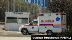 Карета скорой помощи в Бишкеке. Иллюстративное фото.