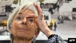 Дырэктарка МВФ Крысьцін Лагард