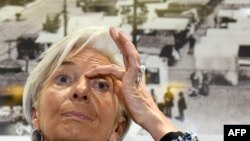 IMF Managing Director, Christine Lagarde.