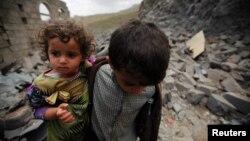 کودکان یمنی در نبردهای این کشور هدف قرار گرفتهاند
