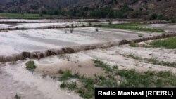 FILE: Flood in southeastern Afghanistan.