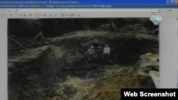 Одне з місць масової страти під Сребреніцею – документальне фото, яке використовують в матеріалах Міжнародного трибуналу в Гаазі