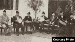 محمد القبانجي وفرقة الجالغي البغدادي