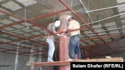 اعمال البناء على قدم وساق