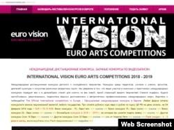 Сайт організаторів «міжнародних конкурсів» не має версій, крім російськомовної, а головна увага зосереджена на розцінках