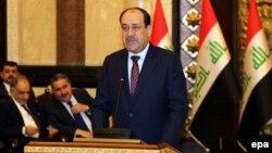 المالكي في إفتتاح مؤتمر بغداد الدولي لمكافحة الإرهاب