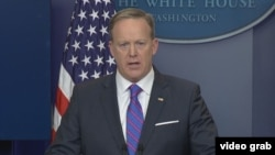 White House spokesman Sean Spicer
