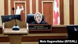 ლილი მსხილაძე, მოსამართლე