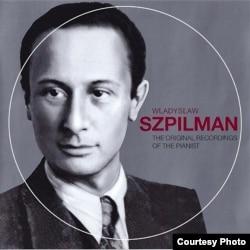 Władislaw Szpilman pe coperta unui disc memorial