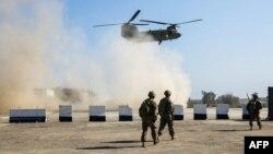 Военнослужащие США в Ираке, февраль 2017 (архивное фото)