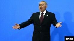 Қозоғистон Президент Нурсултон Назарбоев.