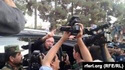 Abdul Reşit Dostum Farýap welaýatynda, 3-nji awgust, 2015.