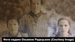 Агрипина Лагута (Клименко), праворуч