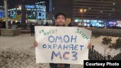Член татарстанского отделения ЛПР Ильдар Киямов
