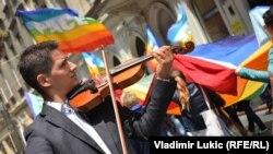 Šetnja nevladinih organizacija na Međunarodni dan parade, Beograd, juni 2013.