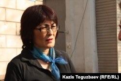 «Ар.Рух.Хақ» қоғамдық ұйымы президенті Бақытжан Төреғожина.