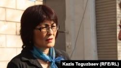 Гражданская активистка Бахытжан Торегожина.
