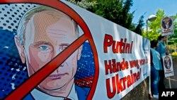 اعتراض به سیاستهای پوتین در قبال اوکراین در آلمان