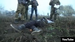 What appears to be the same footage was used in a report about a counterterrorist operation in the North Caucasus 18 months ago, and a killing in Ukraine recently.