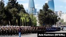 Ադրբեջան - Զորահանդես Բաքվում, արխիվ