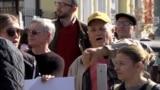 GRAB - Moldovans Protest Erdogan Visit