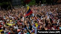 تصویری از اعتراضات ضدحکومت نیکلاس مادورو