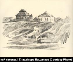 Драўляная сынагога ў Горадні
