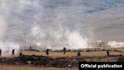 Հայաստանում տեղակայված ռուսական ռազմակայանը զորավարժություններ է անցկացնում, արխիվ