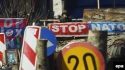 Barrikadat e serbëve në veri të Kosovës...
