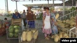 Өзбек базарларының бірі.