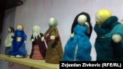 Lutke od filcane vune pomažu u pripovijedanju najmlađim