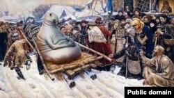 Каляж: «Российский Ждун»