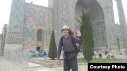 Путешественник Магжан Сагимбаев. Фото из личного архива.