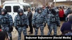 Кырымның Хохловка авылында тентүләр