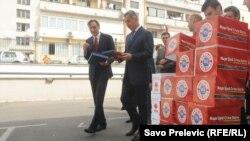 Predizborna kampanja, Ranko Krivokapić i Milo Đukanović