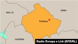 Ilustrim - Hartë - Kosova dhe shtetet që e rrethojnë