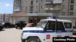 Полицейский автомобиль в Свердловске. Иллюстративное фото.
