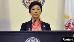 Таиланд премьер-министрі Йинглак Чинават.